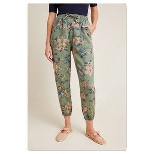 Multicolor Printed Anthropologie Joggers (NWT)